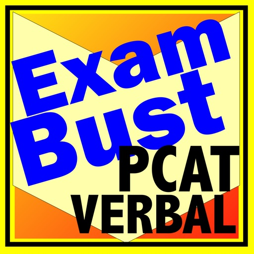 PCAT Prep Verbal Flashcards Exambusters