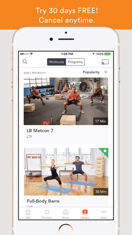 Daily Burn - Video Workouts app image