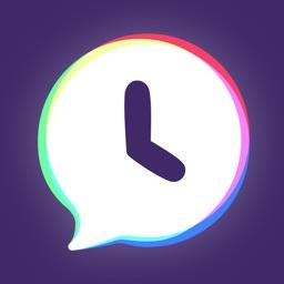 Warptalk - Time-delay messages & statuses