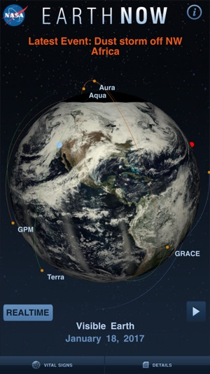 Earth-Now on the App Store