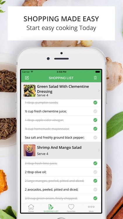 Caveman Feast Paleo Recipes | Shopping List screenshot-4