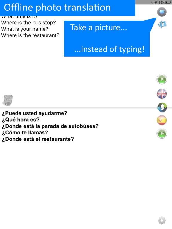 Offline Translator Pro 8 lang Screenshots
