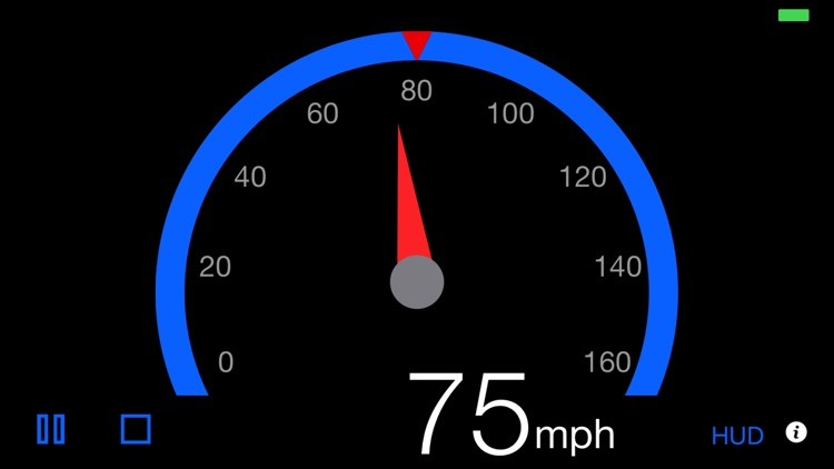 Speedometer - 3pSpeed screenshot-2