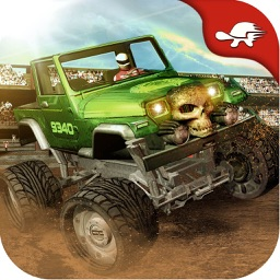 Big Monster Truck Battle: Machines War Destruction