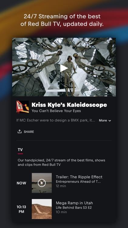 Red Bull TV: Live Sports, Music & Entertainment screenshot-4