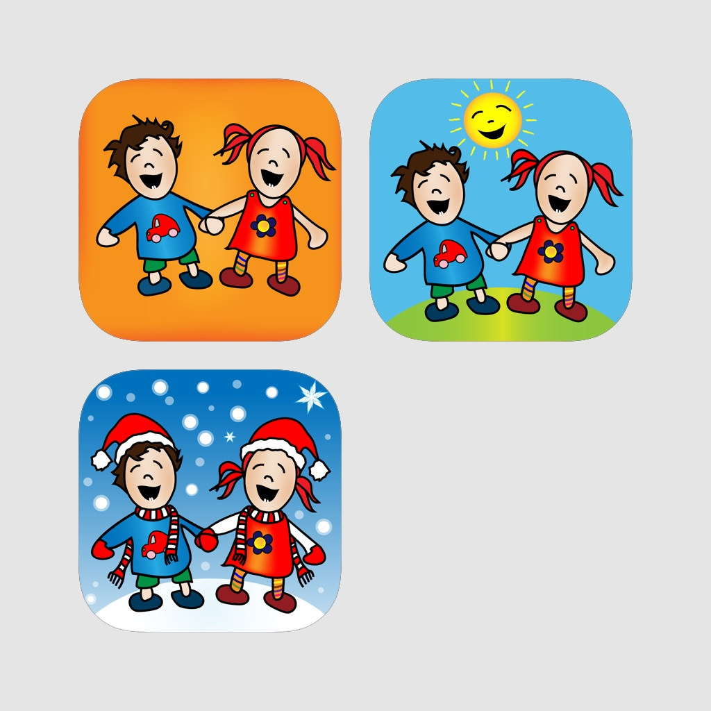 KinderApp Box - Kids learn their first words