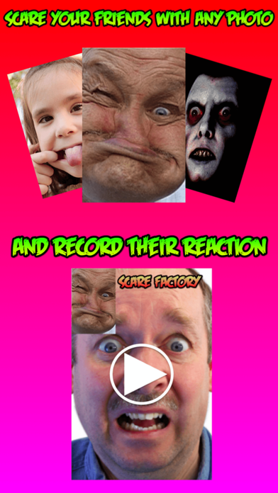 Scare Factory! Prank friends, photo & video record