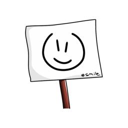 Emoticon - Signboard stickers by Poedil