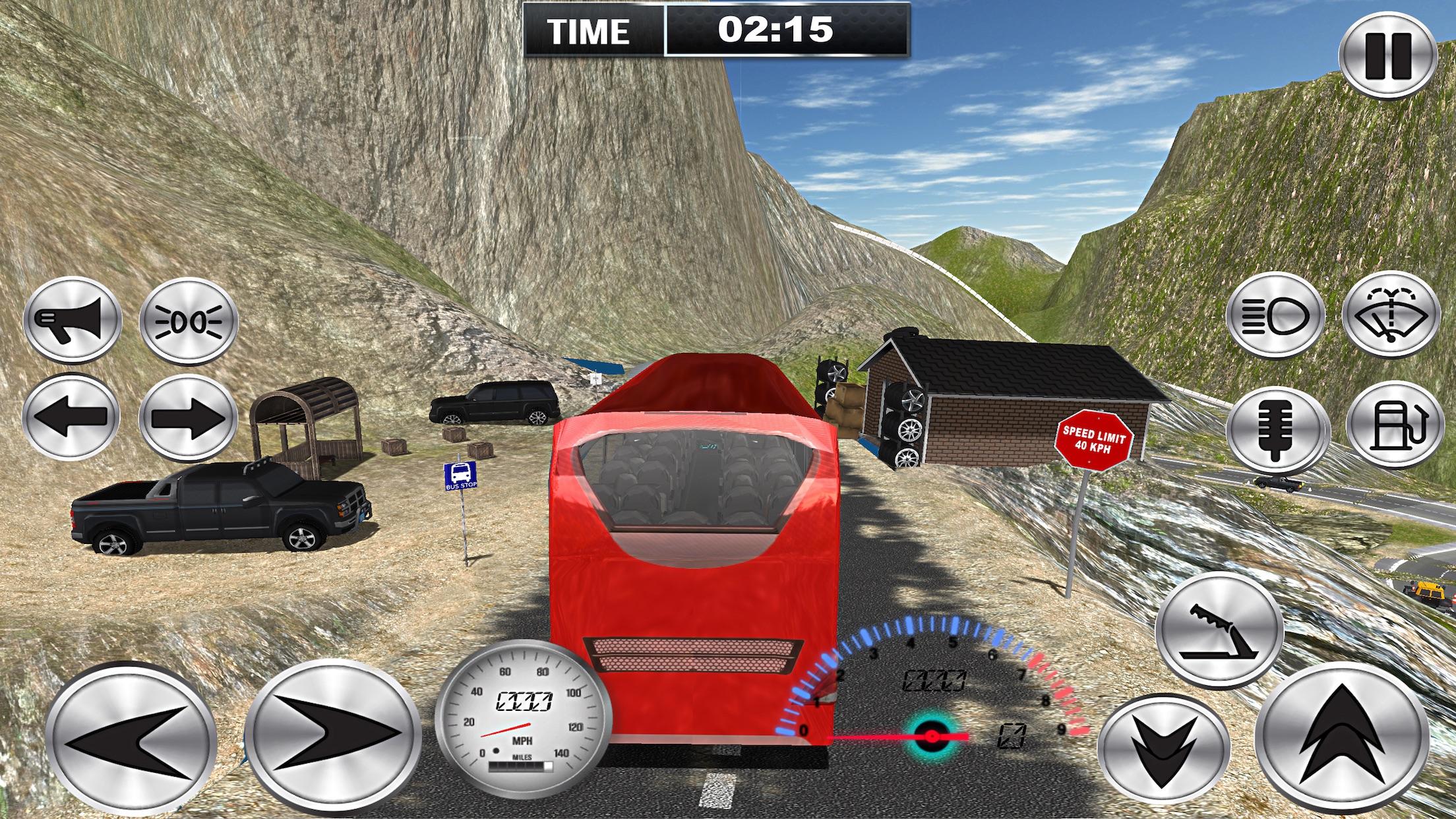 Off-Road Coach Bus Simulator Screenshot