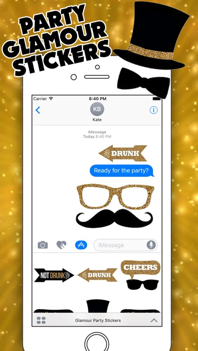 Party People for iMessageのスクリーンショット1