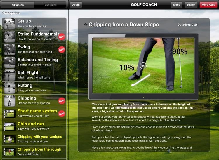 Golf Coach for iPad screenshot-3