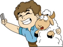 Lamb Festival stickers for iMessage