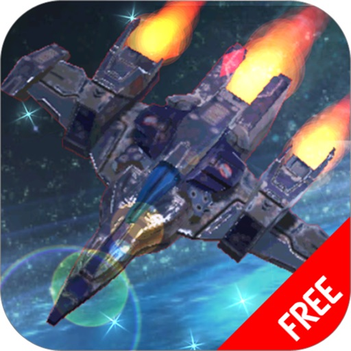 A Battle Classic Aircraft Fighter :Space Explosion