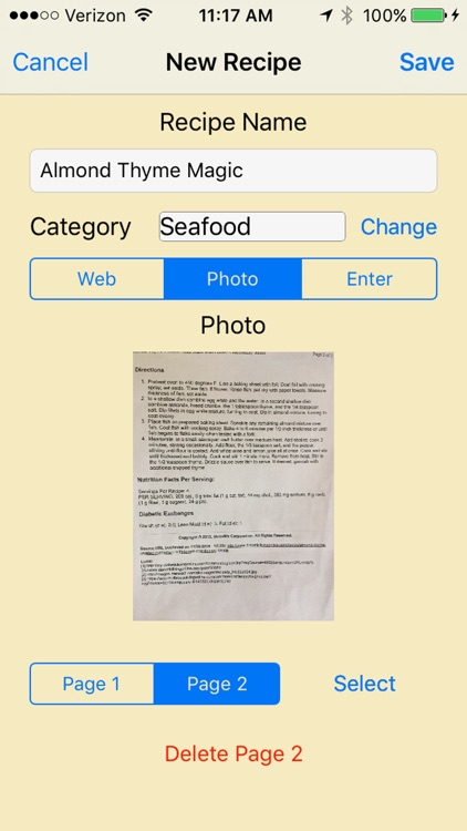 JustMyRecipes screenshot-3