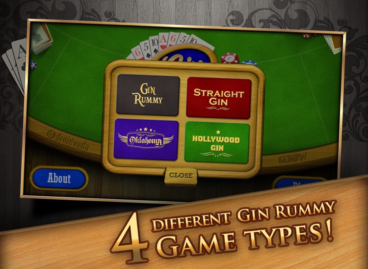 Gin Rummy HD Free! screenshot-2