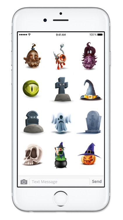 Fun 3D Halloween Sticker Pack screenshot-3