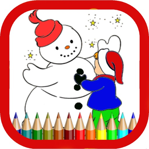 Snowman Coloring Pages For Kids By Farah Ishani