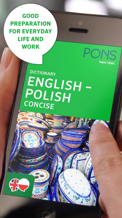 Dictionary Polish - English CONCISE by PONS