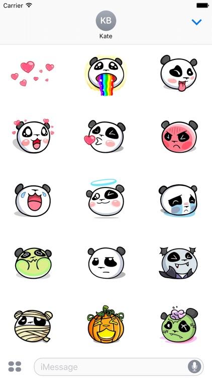 The CHiCHi Panda Sticker Pack by Cute Panda Town