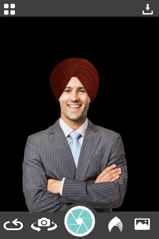 Punjabi Turban Photo Booth - Turban Photo Montage - náhled