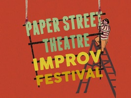 Send your friends stickers to celebrate Paper Street Theatre's 2nd Annual Improv Festival