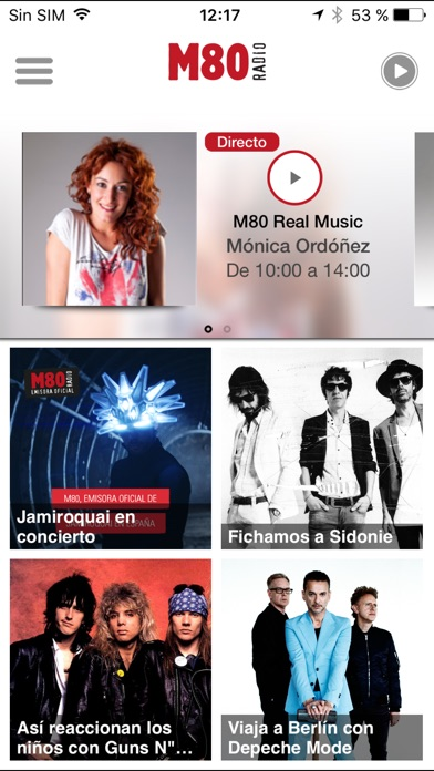 download M80 Radio para iPhone apps 4