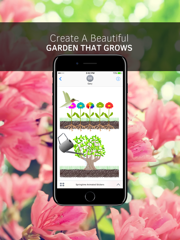 Springtime Animated Stickers screenshot 4