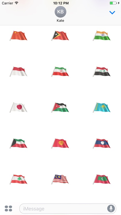 Asian Flags screenshot-3