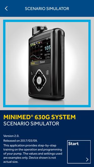 MiniMed® 630G System Scenario Simulator on the App Store