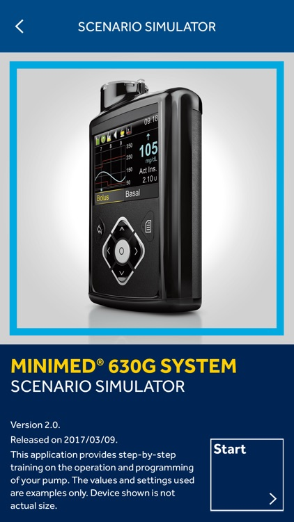 MiniMed® 630G System Scenario Simulator screenshot-1