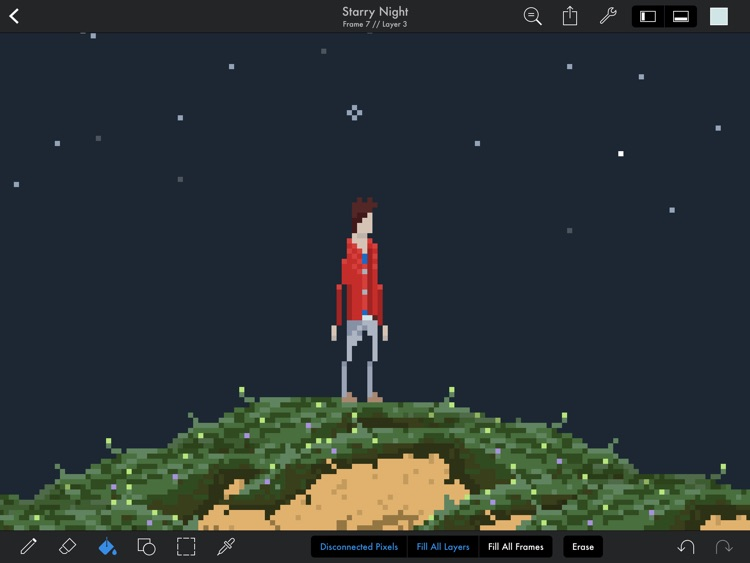 Pixaki – Pixel art studio screenshot-4