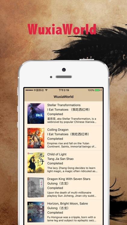 WuxiaWorld - Asian wuxi fantasy novel translations by li kimoji