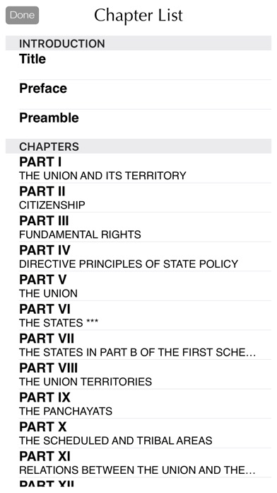 Constitution Of India And Amendments Screenshot