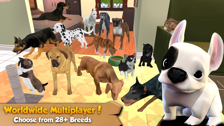 Cat & Dog Online: Multiplayer Kitten & Puppy Sim screenshot-0