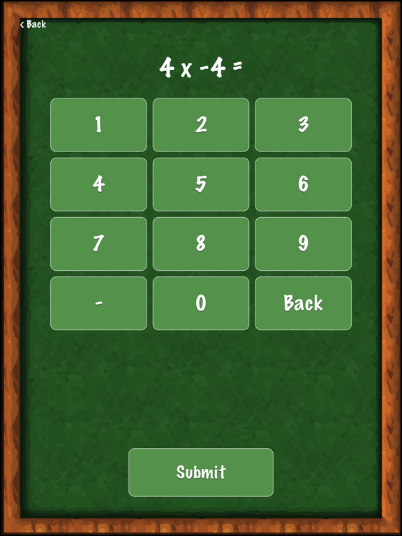 Math Practice - Integers Screenshot 3