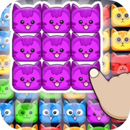 Cube Cat Poping Puzzle