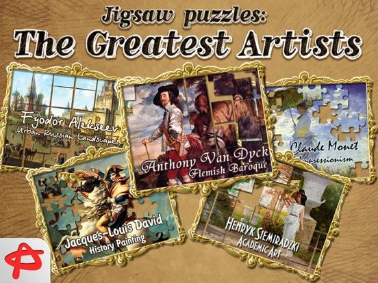Greatest Artists: Jigsaw Puzzle screenshot 1
