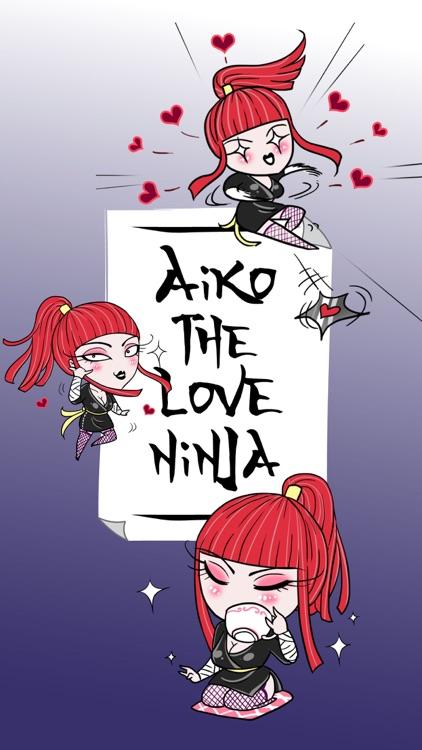 Aiko the Love Ninja stickers
