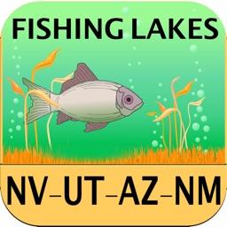 Nevada, Utah, Arizona, New Mexico – Fishing Lakes