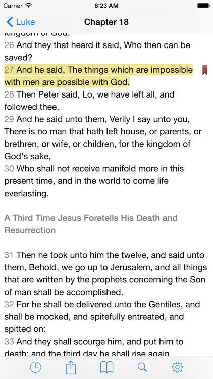 VerseWise Bible King James Version screenshot-0