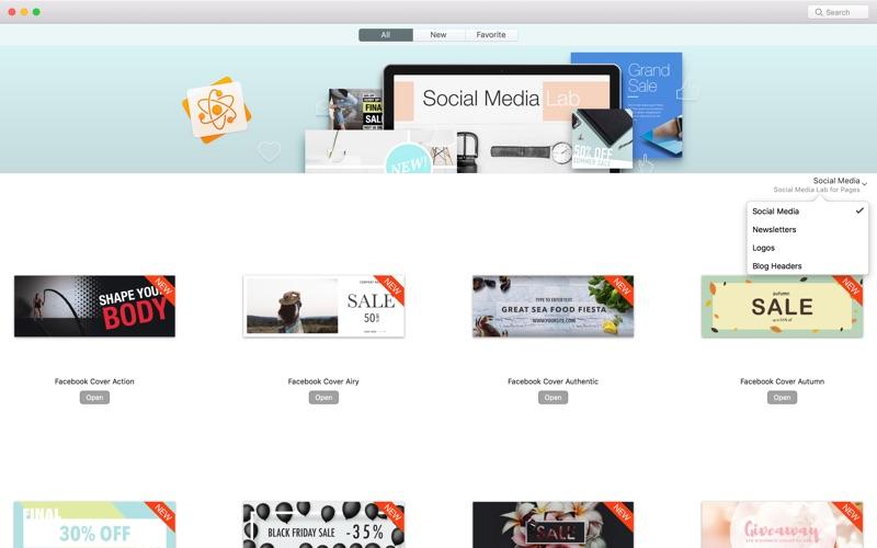 Social Media Lab review screenshots
