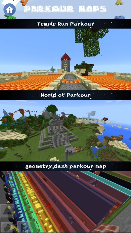 Free Parkour Maps for Minecraft Pocket Edition screenshot-3