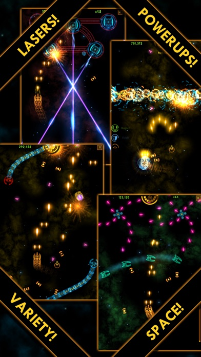 Plasma Sky - a rad retro arcade space shooter Screenshot