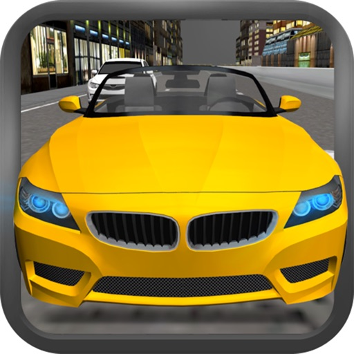 Car Driving 3D icon