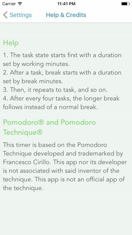 Focus Aid: Stay focused on tasks
