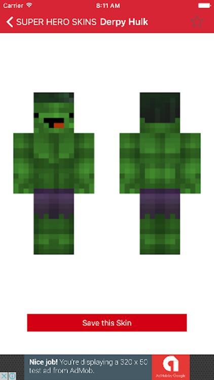 VIP custom skins for minecraft pe Pro screenshot-3