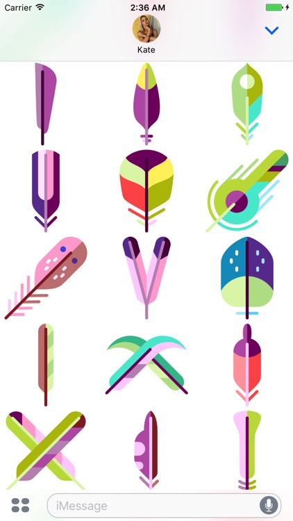 Feather Stickers screenshot-3