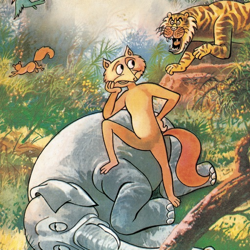 Panchatantra-How the Jackal ate the Elephant icon