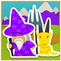 Sticker Book 2: Fantasy World