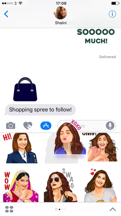 Sonam Kapoor Official Stickers screenshot-3